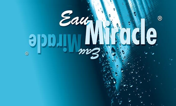 Logo Eau Miracle Corinne Wieser Graphisme Grafik